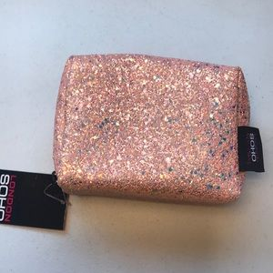 Handbags - London SOHO sparkly cosmetic bag